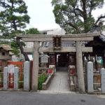 住吉大社の末社「浅沢社」美容・芸能・女性の守護神として信仰されている