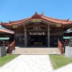 国内最南端の神社で、熊野三神と豊見親三神をお祀りしている「宮古神社」
