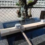 那覇泊港の先に、天女伝説を由来に持つ琉球八社「天久宮」鳥居の先には。。