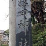 皇居の真東に位置し、樹齢数百年の森に鎮座する「猿田神社」