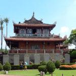 1653年台湾南部を占領していたオランダ人によって建てられた。赤崁楼(普羅民遮城)