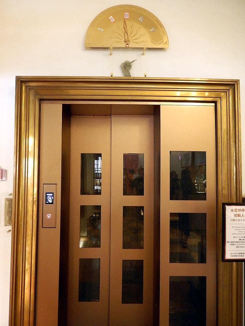 林百貨エレベーター