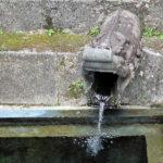 「龍樋」とは龍の口から出ている湧き水で、当時は国王一族の貴重な飲料水だった