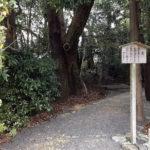 皇大神宮(内宮)の摂社と末社が同座している「茶屋の森」