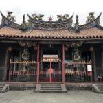 台北三大廟のひとつとして有名な「清水巌祖師廟」由緒ある古廟です。