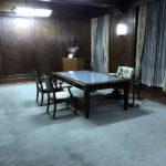 当時のたたずまいをそのまま保存されている「マッカーサー記念室」