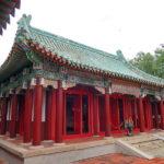 鄭成功とその一族を祀る「開山王廟」日本統治時代は開山神社と呼ばれていた。