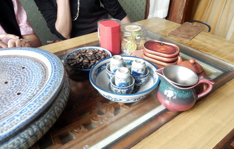猫空にてお茶