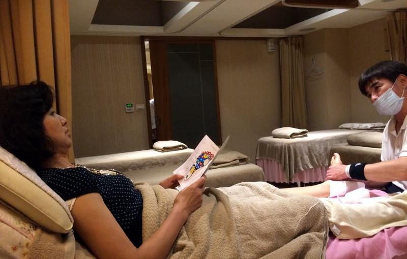 台北観光、朝から夜まで見て食べて疲れたらやっぱり足裏マッサージでプチ癒しですよね!